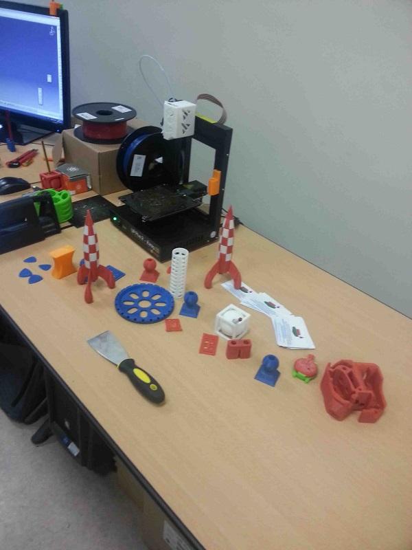 Démo imprimante 3D