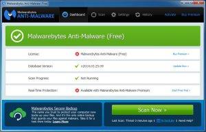 Tutoriel Malwarebyte