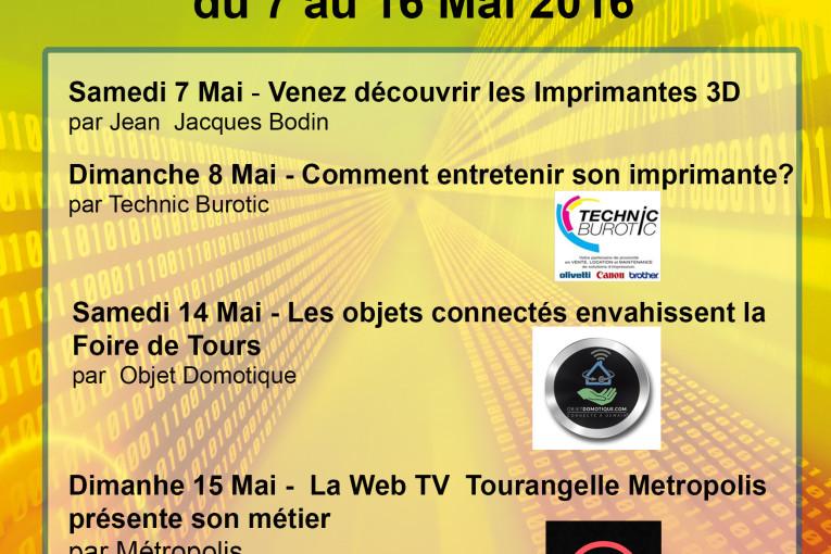 Flyer Recto - Foire de Tours