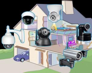 Video-surveillance-habitation - Objets Connectés