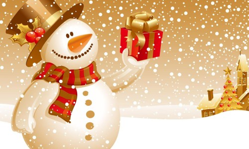Bonhomme de neige - Noel