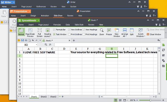 Wps office une autre suite bureautique gratuite informatique chez - Office writer free download ...