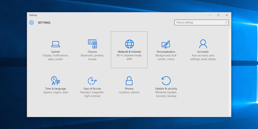 windows 10 la fin du panneau de configuration en 2017
