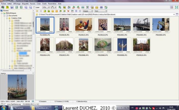 FastStone Image Viewer : Gérez vos photos en quelques clics