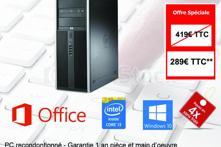 PC Reconditionné- PC Fixe HP Compaq 8300 Elite