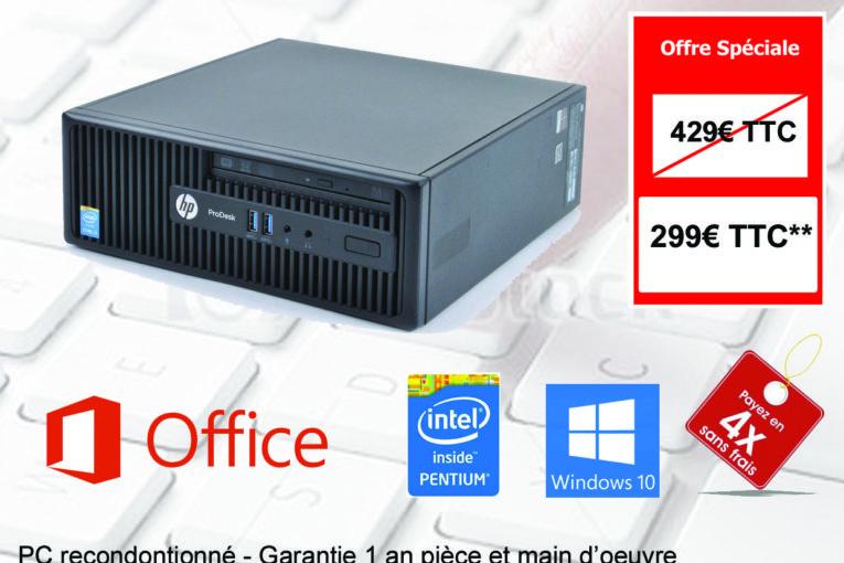 RECTO - PC Fixe HP ProDesk 400 G2,5