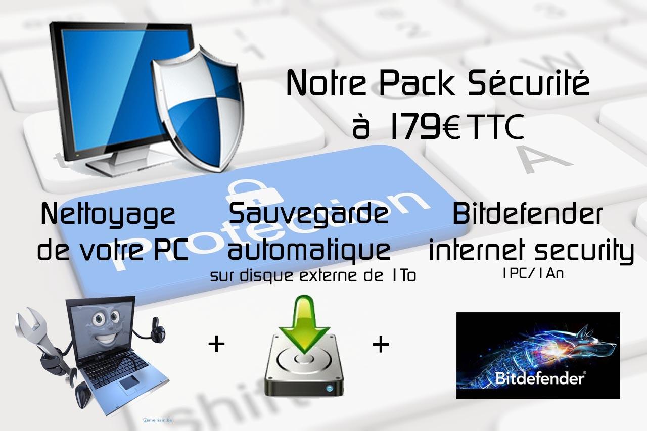 Notre Pack Sécurité Informatique Chez Vous