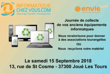 Opération recyclage 2018 – Une opération écologique et sociale