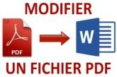 Modifier un PDF